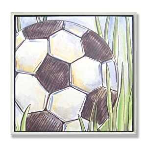 The Kids Room Soccer Ball Plaque