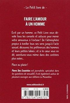 Livres Couvertures de Petit Livre de - Faire l'amour à un homme
