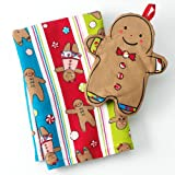 St Nicholas Square Christmas Gingerbread Man Kitchen Towel & Potholder Set