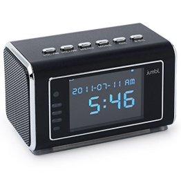 Jumbl-Spy-Camera-Mini-Clock-Radio-Motion