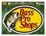BassProShops Bass Pro Shops/バスプロショップス WIINDOE DECAL/ウィンドデカール ステッカー 23cm