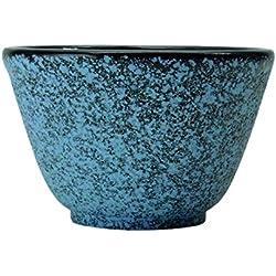 Berghoff 0,1 litro cuenco de té de hierro fundido Studio, juego de 2, azul