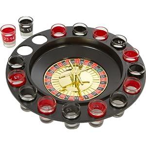 Spinning Roulette Shots - Unique Shot Glass