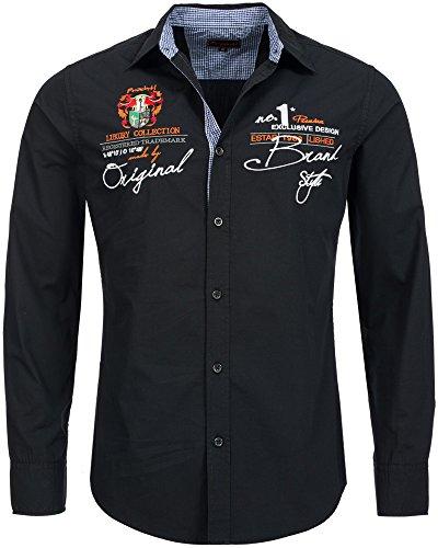 Früchtl Herren Premium Langarm Hemd