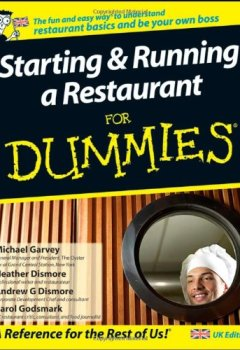 Livres Couvertures de Starting and Running a Restaurant For Dummies: UK Edition