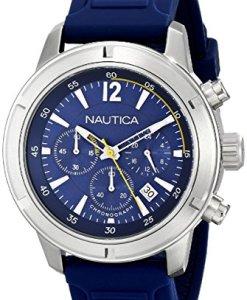 Nautica A17652G - Reloj de pulsera hombre, silicona, color azul