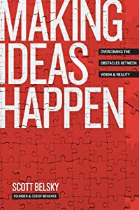 "Cover of ""Making Ideas Happen: Overcoming..."