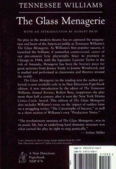 Livres Couvertures de The Glass Menagerie