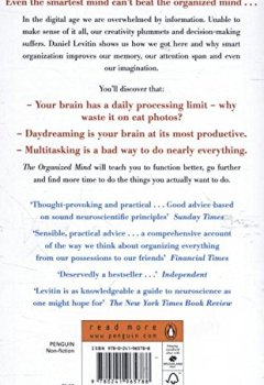 Livres Couvertures de The Organized Mind: Thinking Straight in the Age of Information Overload