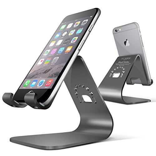 Spinido® TI-APEX Series iPhone対応 デスクスタンド メグネシウム‐アルミニウム合金 iPhonegrey