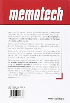 STRUCTURE METALLIQUE PDF GRATUIT MEMOTECH TÉLÉCHARGER