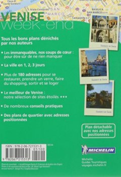 Livres Couvertures de Guide Vert Week-End Venise Michelin