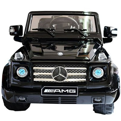Newest-Exclusive-Licensed-Mercedes-Benz-G55-AMG-SUV-12v-Remote-Control-Ride-on-Electric-Toy-Car-for-KidsMusic-Lights-Keys-MP3