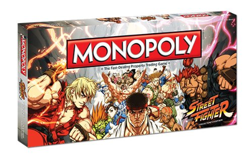 Monopoly: Street Fighter Collector's Edition