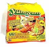 インスタントヌードル タイの即席麺 yumyumヤムヤム トムヤムシュリンプクリーム味 5食パック