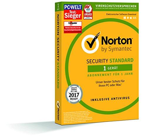Symantec Norton Security Standard – Sicurezza e Antivirus (1 dispositivo – PC e Mac)