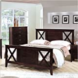 Contemporary Queen Bed in Espresso