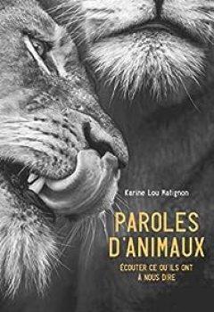 Livres Couvertures de Paroles D'animaux