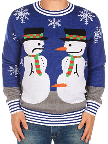 Ugly Christmas Sweater - Snowman Nose Thief Sweater by Tipsy Elves