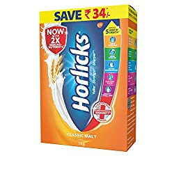 by Horlicks323%Sales Rank in Health & Personal Care: 165 (was 698 yesterday)(319)Buy: Rs. 394.00