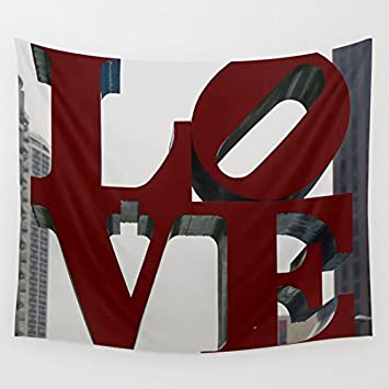 Society6 - Love Philadelphia Sculpture Wall Tapestry by Christine Aka Stine1 on Amazon.com