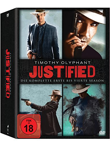Justified - Season 1 bis 4 (exklusiv bei Amazon.de) [Limited Edition]