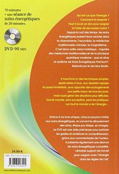 Livres Couvertures de Manuel de soins énergétiques : Soigner sans appareil et sans médicament (1DVD)