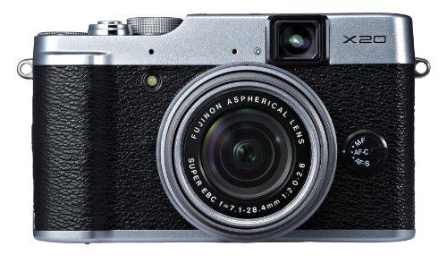 Fujifilm X20 12 MP Digital Camera with 2.8-Inch LCD (Silver)