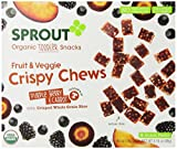 Sprout Crispy Fruit and Veggie Chews, Purple Berry and Carrot, 3.15 Ounce