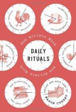 Daily Rituals, by Mason Currey