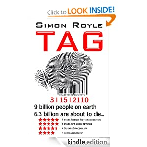 TAG by Simon Royle *Kindle edition only
