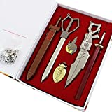 New Akame Kill Keychian Akame Cosplay Necklace Weapons Set for Sale