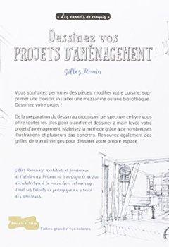 Livres Couvertures de Dessiner des projets d'aménagement à main levée