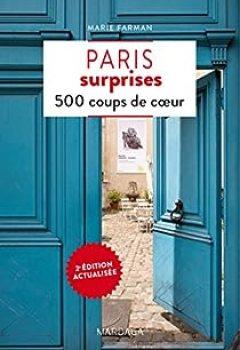 Livres Couvertures de Paris Surprises   500 Coups De Coeur