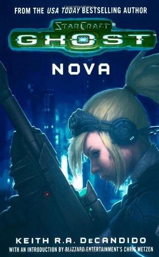 "Cover art for ""Starcraft, Ghost: Nova"""