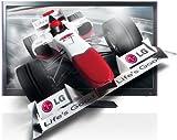 LG 42LW579S 107 cm (42 Zoll) 3D-LED-Backlight-Fernseher, Energieeffizienzklasse B  (Full-HD, 600Hz MCI, DVB-T/C/S Tuner, DLNA) schwarz