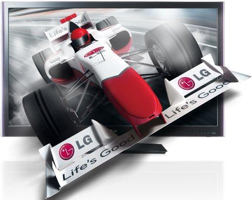 LG 32LW579S 81 cm (32 Zoll) 3D-LED-Backlight-Fernseher, Energieeffizienzklasse C  (Full-HD, 600Hz MCI, DVB-C/T/S, DLNA) schwarz