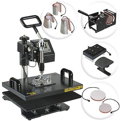 Professional 8 in 1 Multifunction Sublimation Heat Press Machine - Model PRO-8800X