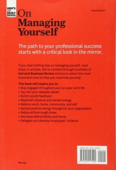 Livres Couvertures de HBR's 10 Must Reads on Managing Yourself