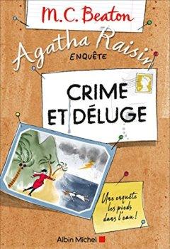 Livres Couvertures de Agatha Raisin enquête 12 - Crime et déluge