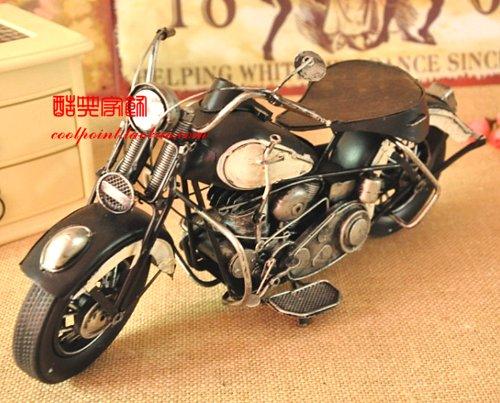 フィギュア ハーレー ダビッドソン 1937年型 WL45 1/6スケール(黒色シート)