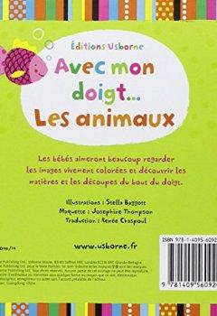 Livres Couvertures de Avec mon doigt : Les animaux