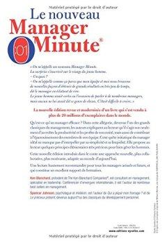 Livres Couvertures de Le nouveau manager minute: Réussir vite et mieux dans un monde en pleine mutation