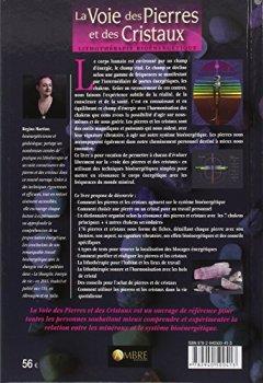 Livres Couvertures de La Voie des Pierres et des Cristaux - Lithothérapie bioénergétique
