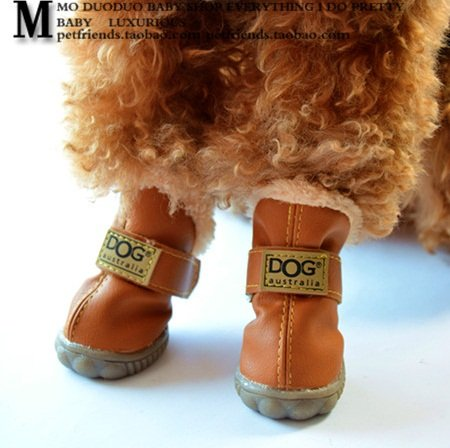 Colorfulhouse® DOG Australia Winter Warm Dog Boots 4 Pcs