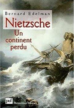 Livres Couvertures de Nietzsche, Un Continent Perdu