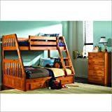 New Energy Discovery Mission Twin Over Full Bunk Bed Frame
