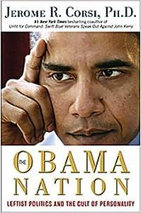 """Cover of """"The Obama Nation: Leftist Polit..."""