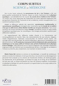 Livres Couvertures de Corps subtils - Science et médecine