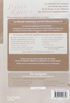 Telecharger Fleurs D Encre Francais 4e Livre Du